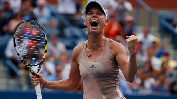 Caroline Wozniacki us open win