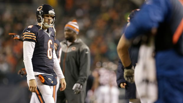 Jay Cutler holds brief press conference after Monday night loss