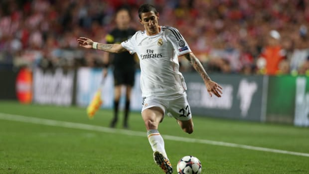 angel di maria real madrid wants transfer