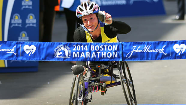Tatyana McFadden on going for the marathon grand slam