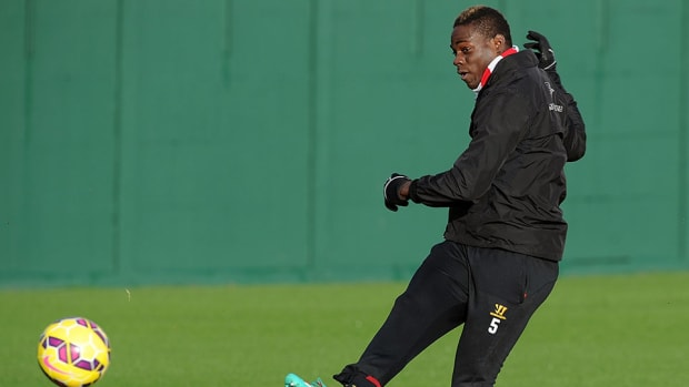 Mario Balotelli accepts charge instagram post liverpool