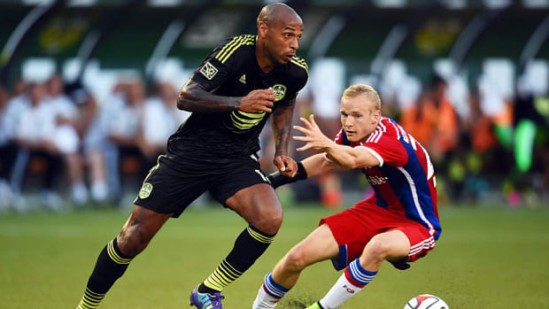 Thierry Henry MLS All-Star Game