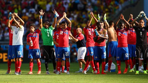 Costa Rica Fans Clap