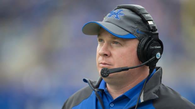 Mark Stoops Kentucky head coach