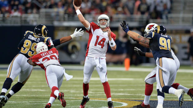 Larry Fitzgerald: The Cardinals can win with Ryan Lindley - Image