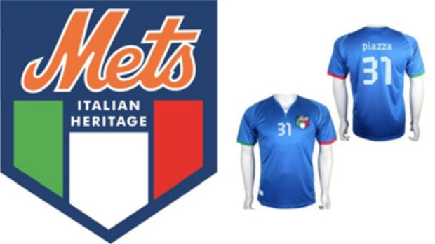 New York Mets Mike Piazza soccer jersey