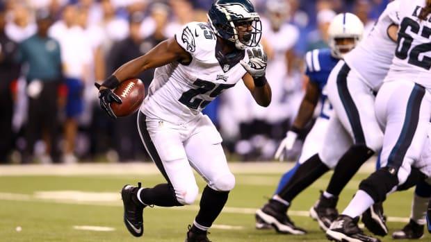 LeSean McCoy Philadelphia Eagles Barry Sanders Jason Hatcher