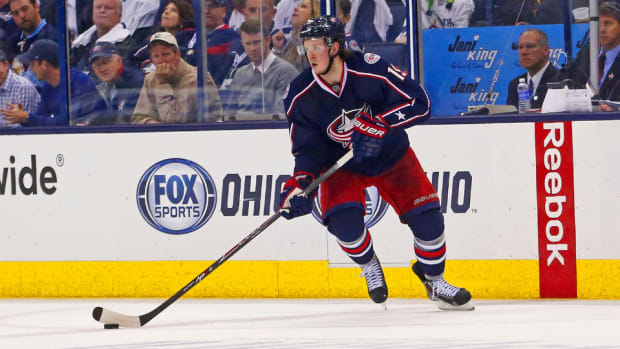 Columbus Blue Jackets Ryan Johansen contract