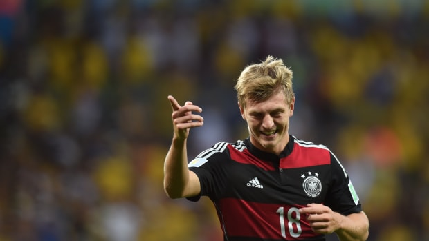 Toni Kroos Bayern Munich Real Madrid