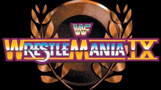 Wrestlemania IX Logo