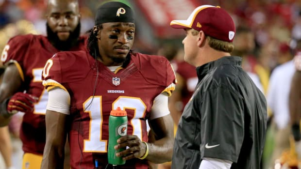 washington redskins robert griffin iii injury return week 11
