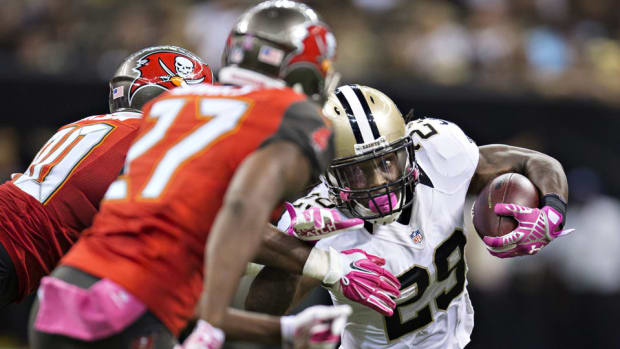 Payton: Saints happy with running backs, have no interest in Ray Rice
