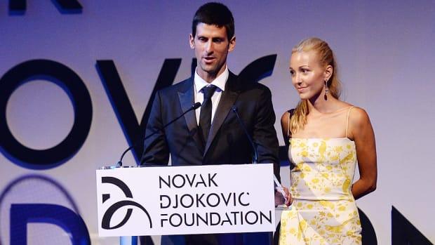 Novak Djokovic Jelena Ristic married