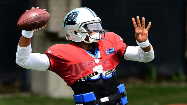 cam newton on pace to play opener