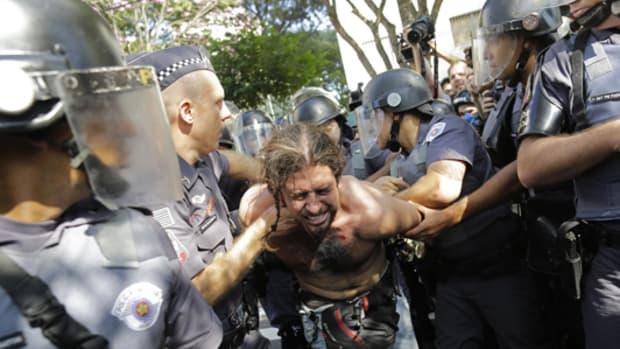 Brazil protests sao paulo