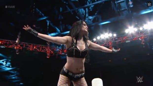Paige WWE raw screengrab