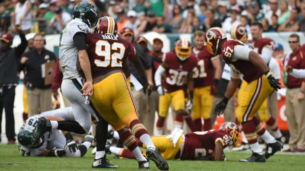 redskins eagles brawl