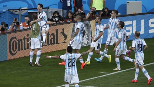 Lionel Messi Teammates Winner