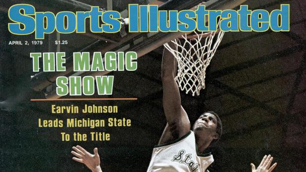 Magic Johnson SI Cover
