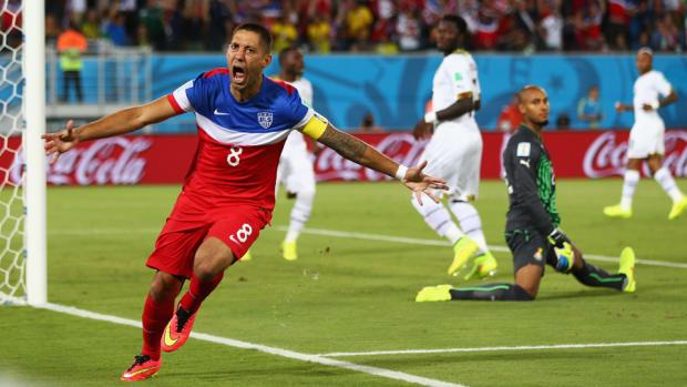 Clint Dempsey Ghana Celebration