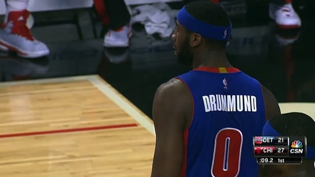 Pistons spell Andre Drummond's name wrong on jersey IMAGE