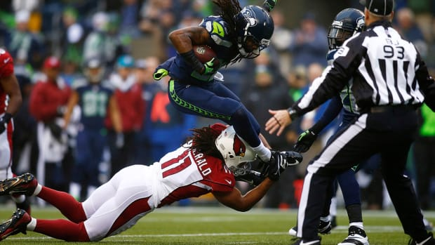 Larry Fitzgerald on facing Richard Sherman: 'It's all business between the lines' - Image