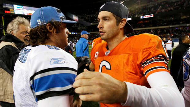 Jay Cutler and Matthew Stafford