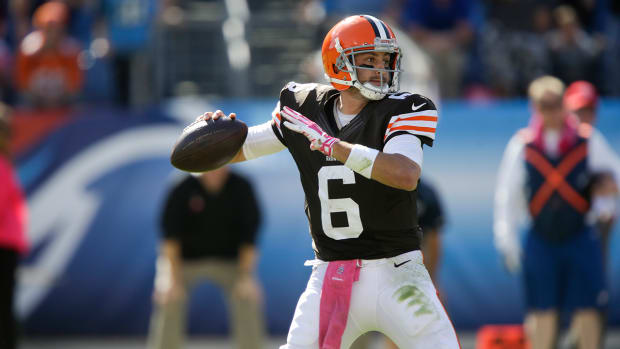 Browns set NFL record in comeback win over Titans