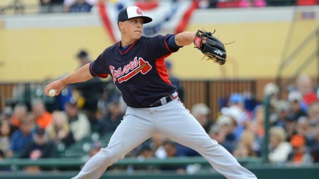 Braves P Kris Medlen