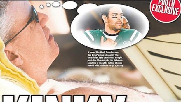 Rex Ryan headline newspaper screengrab