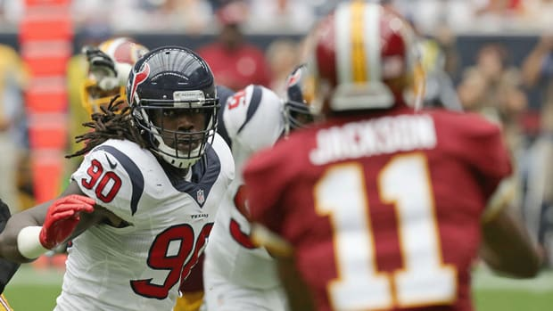 Jadeveon Clowney misses practices Thursday, no official status for Monday
