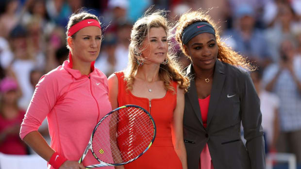 Monica Seles is the author of a young adult romance series