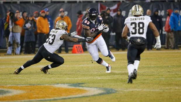 chicago bears martellus bennett offense passion
