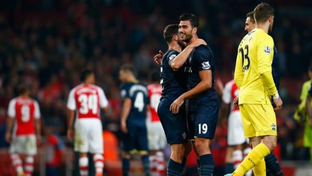 Arsenal Southampton league cup