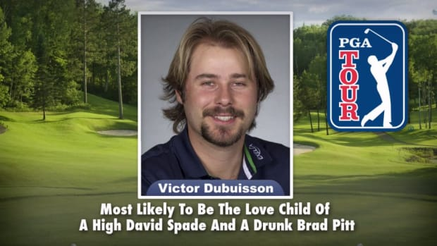 Jimmy Fallon handed out PGA Tour superlatives on the Tonight Show