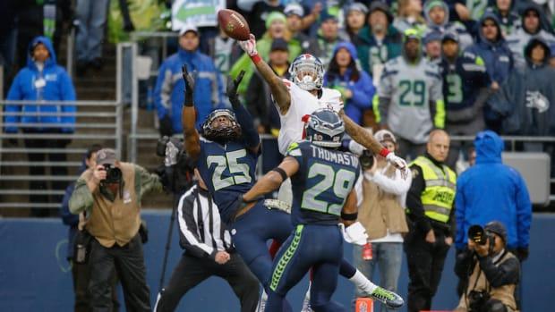 Richard Sherman Receiver Seattle Seahawks