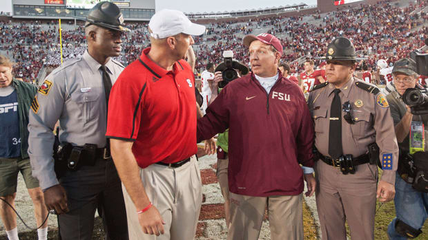 Jimbo Fisher responds to fake injury comments