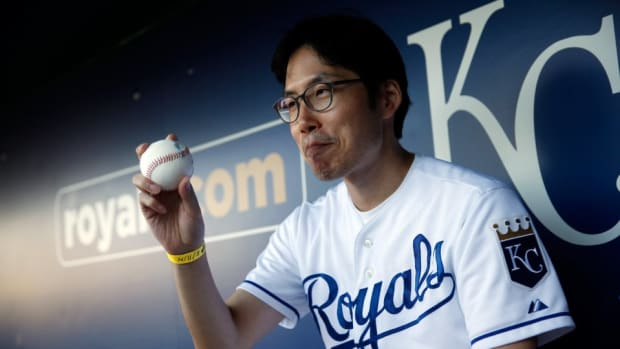 Kansas City's South Korean superfan SungWoo Lee will be at the World Series