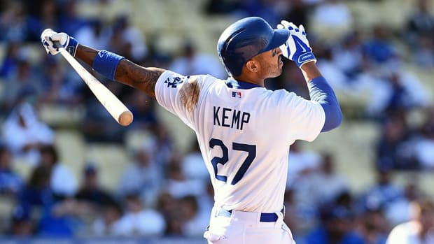 Matt Kemp traded top