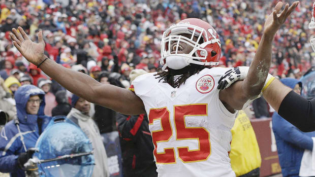 Jamaal Charles is open to anyone in an auction draft