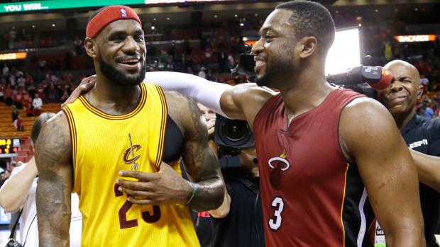 LeBron James Cavaliers Dwyane Wade Heat 960