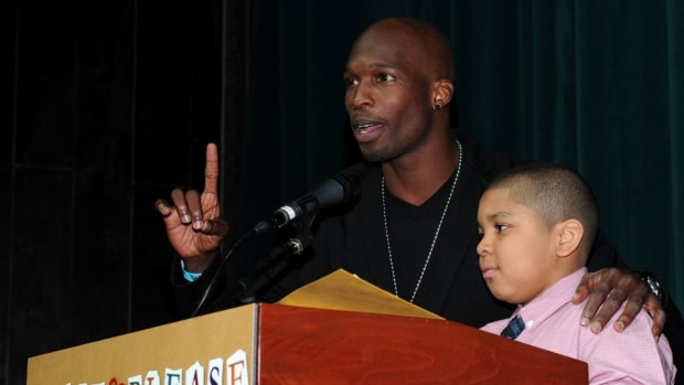 Chad Johnson wants more kids