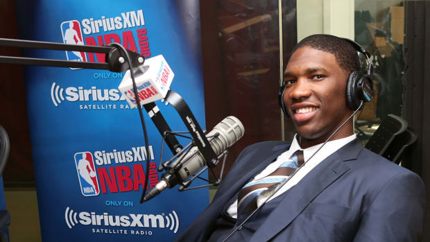 Joel Embiid was drafted by the Sixers.