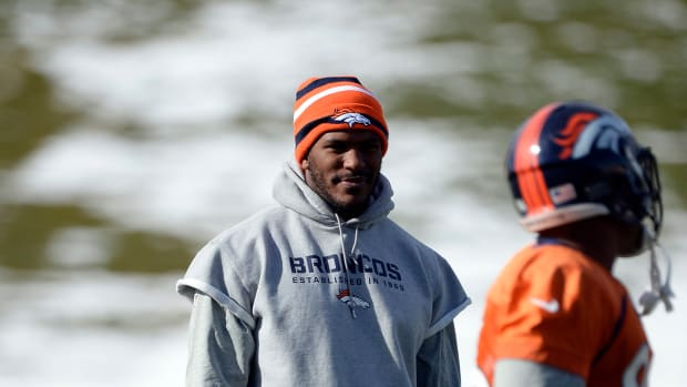 Emmanuel Sanders, Julius Thomas held out of Broncos practice Thursday IMAGE