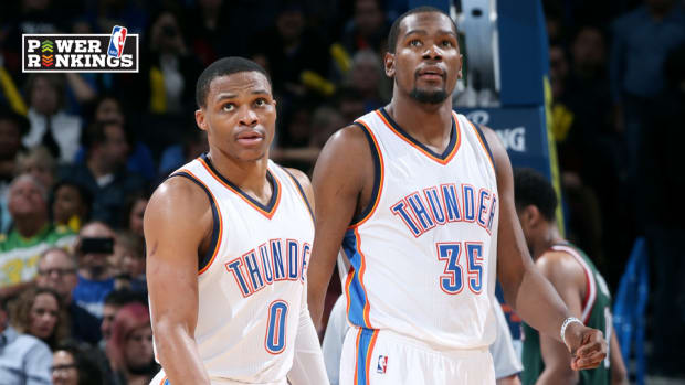 OKC Thunder rankings