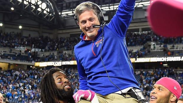 jim Schwartz bills carried off field lions golden tate