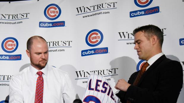 Jon Lester Chicago Cubs Theo Epstein