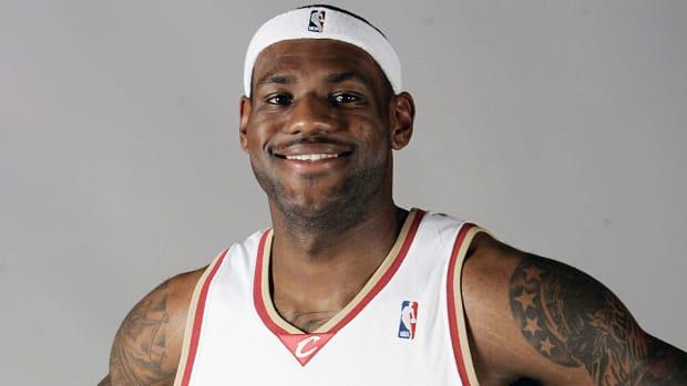 LeBron James goes back to Cleveland
