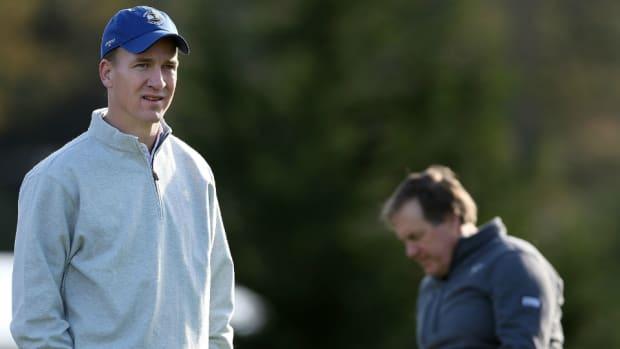 Peyton Manning and Bill Belichick