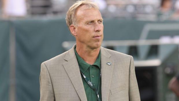 new york Jets GM John Idzik press conference